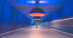 Blue Hour (Stadt_Kind) Tags: ubahn subway underground munich mnchen bayern bavaria stadtkind new urban urbex longexposure