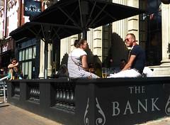 Bank (Draopsnai) Tags: bank pub traditionalbritishpub londonboozer outdoor people northcoteroad battersea wandsworth