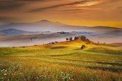 Campagna (Zz manipulation) Tags: art ambrosioni zzmanipulation campagna tramonto arancio landscape country solore