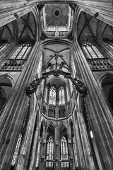 Elevation (savolio70) Tags: gothic gotico archs archi architettura architetture savolio stefanoavolio blackwhite bw biancoenero monocromo rouen normandia elevation