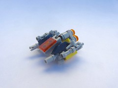 The Blackjack (I.C.E. inc) (Marley Mac) Tags: lego space whitebackground scifi brick mini micro spaceship microspaceship marleymac ice inc blackjack