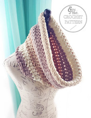 Pebbles and Pearls Crochet Cowl Pattern by Cozy Hat (Anastasia wiley) Tags: cozy hat crochet cowl cozyhat chunky scarf pattern crochetcowlpattern caroncakesyarn cozyhatpattern neck warmer