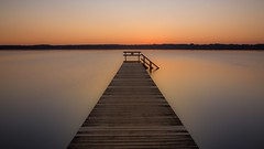 Starnberger See jetty @sunset (florian.diebold) Tags: lake sun longexposure nd germany bavaria starnbergersee sunset pier jetty