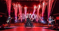 #Shinedown in Wichita, KS ( Photo by Brett Schauf) (ShinedownsNation) Tags: shinedown nation shinedowns zach myers brent smith eric bass barry kerch