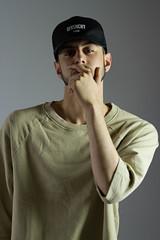 IMG_1000 (sabrinafvholder) Tags: man male hat hipster studio portrait young givenchy sabrinavazholder