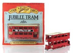MUS-Typhoo-Tram+MBY (adrianz toyz) Tags: tram matchbox yesteryear typhoo tea copy herbert kees hongkong london e1