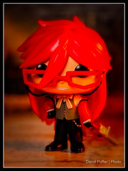 This week, Femme Fatale's! (Puffer Photography) Tags: stilllife blackbutler anime funko actionfigures toys funkofantasy manga studio 2016 pop minifigs grell