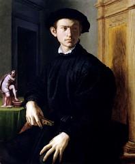 Portrait of Man with a Lute (lluisribesmateu1969) Tags: bronzino portrait 16thcentury galleriadegliuffizi florence