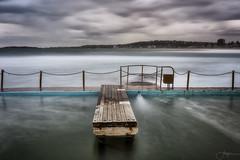 The Plank (Crouchy69) Tags: sunrise dawn landscape seascape ocean sea water coast clouds sky long exposure jetty pier narrabeen pool sydney australia