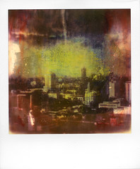 Bangkok, remixed. Roid Week day 4, No. 2 (Rhiannon Adam) Tags: roidweekday4 polaroidweek roidwk roidweek bangkok instantlab instantfilm impossibleproject painted mixedmedia manipulated polaroidthemissingmanual