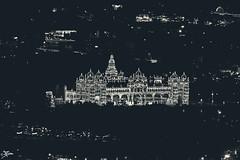 Mysore Palace From Chamundi Hills View Point (briejeshpatel) Tags: briejeshpatel canon canon7d l lens brijesh patel india karnataka mysore mysuru dussera mysoredusseracelebrations festival celebrations mysorepalace navaratridolls lights mysoredussera2016 canon200mmf28l nightphotography longexposure chamundihills betta viewpoint