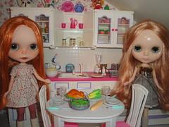 November 24, 2016, Blythe a Day - Thanksgiving Dinner