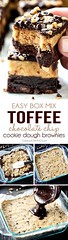 Toffee Chocolate Chi (alaridesign) Tags: toffee chocolate chip cookie dough brownies