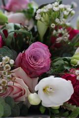 Floral decoration (scott_steelegreen) Tags: flowers floral table decoration celebration white wedding