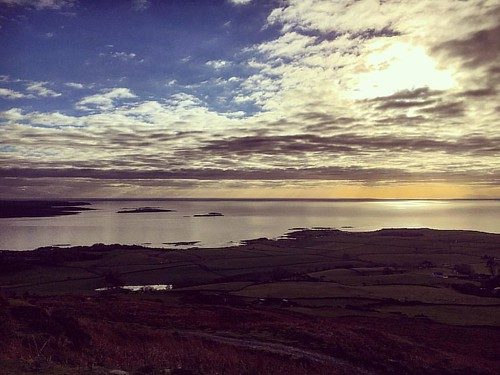 Looking out over #wigtownbay from @laggan_outdoor_activities getting ready to #zipslide #funday #instadaily #familyfun #picoftheday #scenic