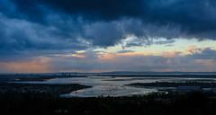 Hilltop View (Chris A M) Tags: portsdownhill011016 portsdown hill portsmouth solent portsolent clouds storm view morning sunrise sea seascape isle wight iow cou colour landscape island hampshire water