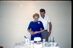 Lucy and Frank at their 25th Anniverary - March 1962 (kimstrezz) Tags: 1962 terryandpatsslides lucymaybellecouttsboskovich frankboskovich coutts boskovich 25thweddinganniversary