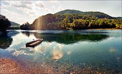 Ferry-boat (Katarina 2353) Tags: landscape bajinabasta river drina serbia europe katarina2353 katarinastefanovic
