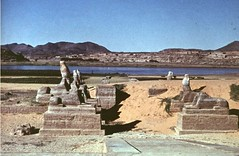 Avenue of Sphinxes (nubianimage) Tags: nubia nubian image archive nia avenue sphinxes statues egypt
