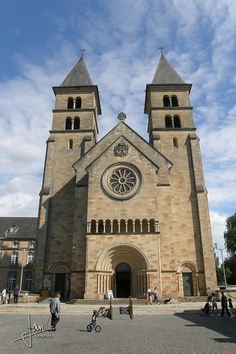 Echternach (2016) - Abbaye d'Echternach | St. Willibrordus Basilika | Basilica of Saint Willibrord | Sint-Willibrordusbasiliek