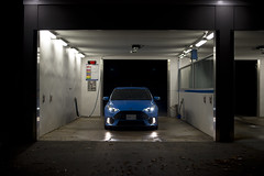 Ford Focus RS (B. R. Murphy) Tags: ford focus rs nikon d610 car sports hot hatch portrait night blue