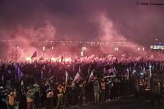 _ATI6281 b (attila.husejnow) Tags: nationalism nationalst poland warsaw farright far right burning flare flares march independence day mask flag ksenophobia xenophobia homophobia anti islam racist