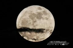 Super Moon at Guayama PR (Hector A Rivera Valentin) Tags: super moon sky bluemoon canon7d canon100400l puertorico