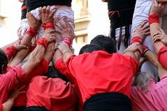 Units fem la força (athelas_2) Tags: castellers barcelona mercè festes tradició castells esforç força