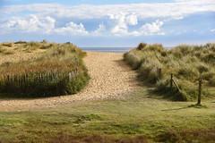 To the beach (sarah_presh) Tags: walberswick suffolk england beach dunes sand sun sunshine clouds nikond750
