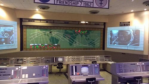 Mercury Mission Control - Friendship 7 - 1962