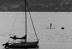 Paddel surf (_Suminch_) Tags: suminch barco ship girl