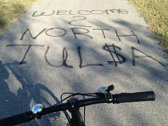 Osage_010 (gouldie) Tags: osageprairietrail tulsa sperry skiatook oklahoma bicycle foldingbike fuji fujiorigami