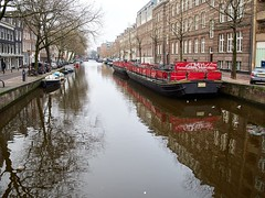 Auf groer Fahrt (Photoauge.) Tags: canals boot schiff amsterdam holland niederlande grachten