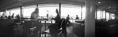 Cafe Pinhole (DanRSmith) Tags: ondu ondupinhole ondurama 6x17 pinhole pinholecamera delawarr delawarrpavilion cafe coffee lofi longexposure fujineopanacros100 rodinal