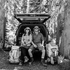 Moments Like This (Aaron Bieleck) Tags: hasselblad500cm film 120film 6x6 square analog filmisnotdead backpacking gear truck sarah bw blackandwhite wilderness outdoors pnw pacificnorthwest washingtonstate 60mmct kelty toyota4runner hiking