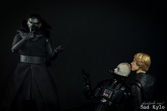That awkward moment when you show up to the wrong movie, wrong year and wrong trilogy (Sabrina Franzoni) Tags: kylo ren star wars disney movie collection bandai sh figuarts force awakens figure toy photography darth vader anakin luke skywalker dark side