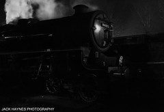 Swanage Black 5 No. 44871 (Jack Haynes Photography) Tags: 44871 black 5 swanage railway dorset purbeck white