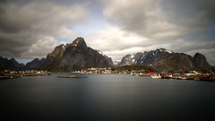 reine lofoten norway (mariusz kluzniak) Tags: mariusz kluzniak europe scandinavia norway norge lofoten reine mountains landscape long exposure picturesque