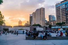 Sunset (andrewpabon) Tags: sel1670z independanceday mexicocity ciudaddemxico diadeindependencia centro sony 2016 a6300