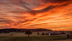 sky is burning (rainer.menes) Tags: sunset skyscape landscape germany