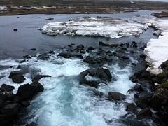 Drekkingarhylur  the drowning pool at ingvellir (Bex.Walton) Tags: reykjavik travel iceland ingvellir thingvellir nationalpark snow drowningpool drekkingarhylur