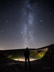 Beam me up Scotty! (diamond-skies) Tags: milky way selfie starry sky kingsdale ingleton yorkshire dales astrophotography