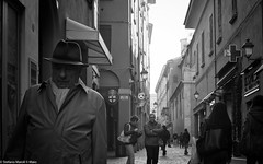 on the street again,,,,la preoccupazione per il futuro... (the best maio) Tags: street bologna people citizens