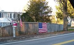flag fence (muffett68 ) Tags: flag fence hff