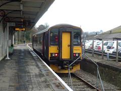 153372 Liskeard (2) (Marky7890) Tags: looevalleyline gwr 153372 class153 supersprinter liskeard 2l82 railway cornwall train