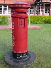 Postbox, Nuwara Eliya, Sri Lanka (geoff-inOz) Tags: postbox nuwaraeliya postoffice ceylon heritage littleengland srilanka hillstation
