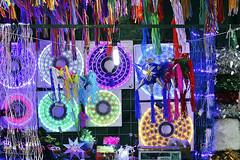 Christmas lights. (maotaola) Tags: flickrfriday christmasmarket christmaslights mercadodenavidad catchycolors coloredshot cdmx