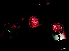 Space crafts (blondinrikard) Tags: spotlights lamps lights hagabion light artificiallighting lighting lampor lamp strålkastare leds led lightemittingdiodes coloredlight färgatljus kulörtalyktor