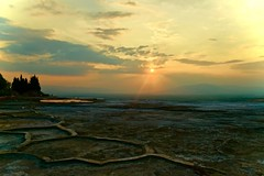 DSC_0371 (Sinem Saka) Tags: pamukkale turkey nikon landscape planet sun travel nature limestone