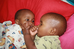 Elisha en Junior